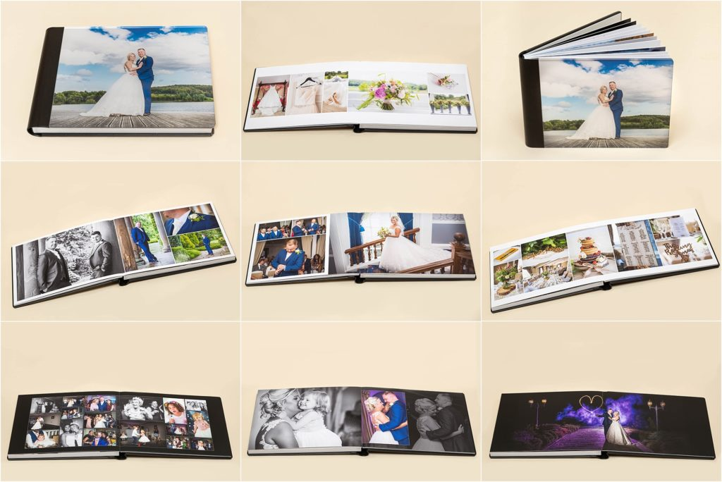 Tier 3 Wedding albums from Sugar Photography in West Yorkshire