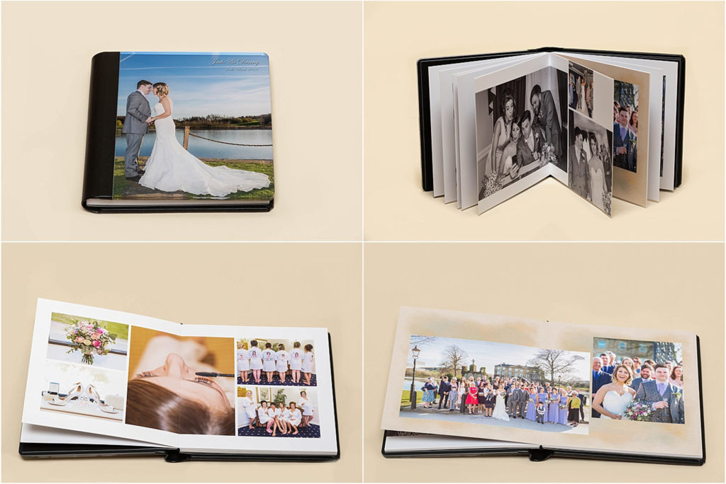 Wedding albums from Sugar Photography in West Yorkshire